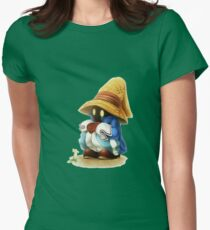 Final Fantasy Womens Fitted T-Shirt
