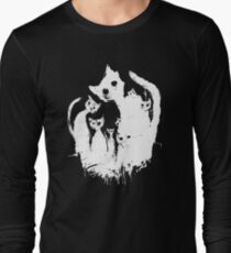 Ghost cats Long Sleeve T-Shirt