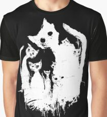 Ghost cats Graphic T-Shirt