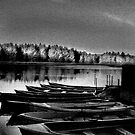 Old Fishing Boats by Chris Clark