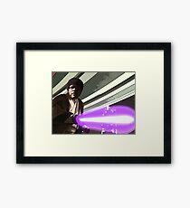 Jedi Master Jules Mace Windu  Framed Print