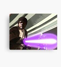 Jedi Master Jules Mace Windu  Metal Print