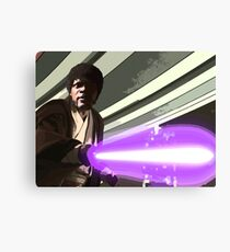 Jedi Master Jules Mace Windu  Canvas Print