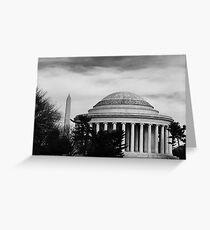 Monumental DC  Greeting Card