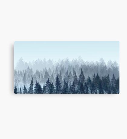 Minimalistic wood Canvas Print