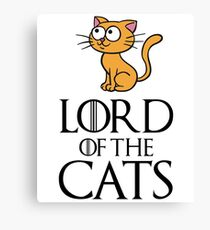 Lord Cats Canvas Print