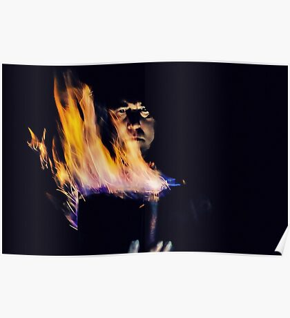 Evoking the Fire Element  Poster