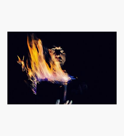 Evoking the Fire Element  Photographic Print