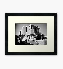 Postmodern Cathedral Framed Print