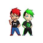 Markiplier and Jacksepticeye by hoshinoshizuka