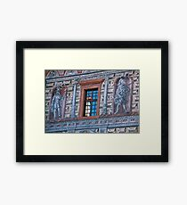 Sgrafitto Facade Framed Print
