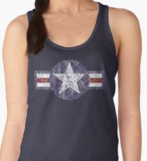 USAF US Airforce Roundel Women's Tank Top