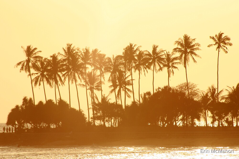 Senggigi Sunset - Lombok - Indonesia by Erin McMahon