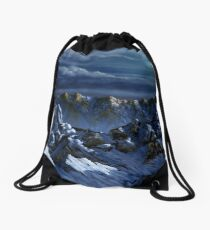 Dawn at Eagle's Peak Drawstring Bag