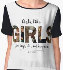 Girls Women's Chiffon Top