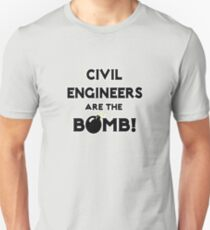 Civil Engineers Are The Bomb! T-Shirt