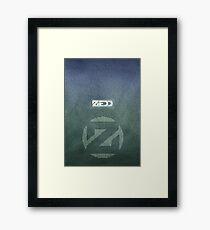 Zedd Lyrics Poster Framed Print