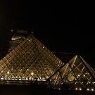 Louvre in Paris  by WaleskaL