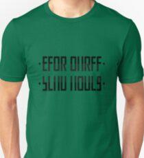 SEND NUDES / hidden message black Unisex T-Shirt