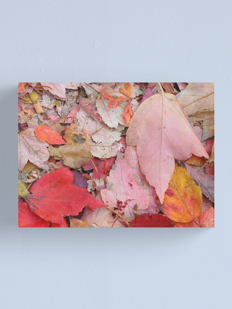 Alternate view of Leaves Fall Canvas Print