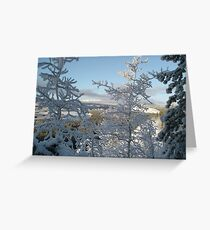 Whitehorse Greeting Card