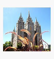 LDS: Salt Lake Temple Photographic Print