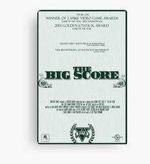 The Big Score - GTA V Canvas Print