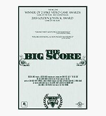 The Big Score - GTA V Photographic Print