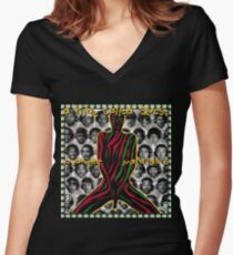 Tribe Called Quest - Midnight Murauders Women's Fitted V-Neck T-Shirt