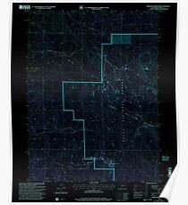 USGS TOPO Map Colorado CO Freeman Reservoir 233035 2000 24000 Inverted Poster