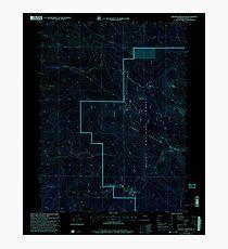 USGS TOPO Map Colorado CO Freeman Reservoir 233035 2000 24000 Inverted Photographic Print