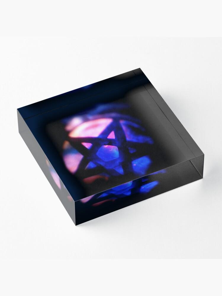 Alternate view of Black Magic Acrylic Block