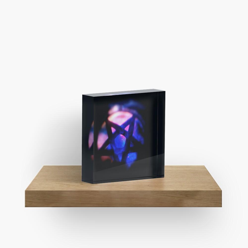 Black Magic Acrylic Block