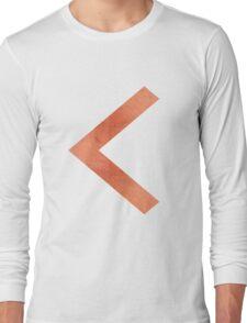 Arrow in Red Rock Long Sleeve T-Shirt