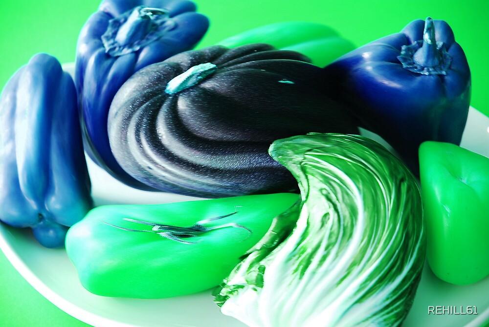 Still Life Warp Study I (Green) by REHILL61