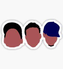 Chance the Rapper Mixtape Faces Sticker