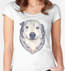 Good Boy Women's Fitted Scoop T-Shirt