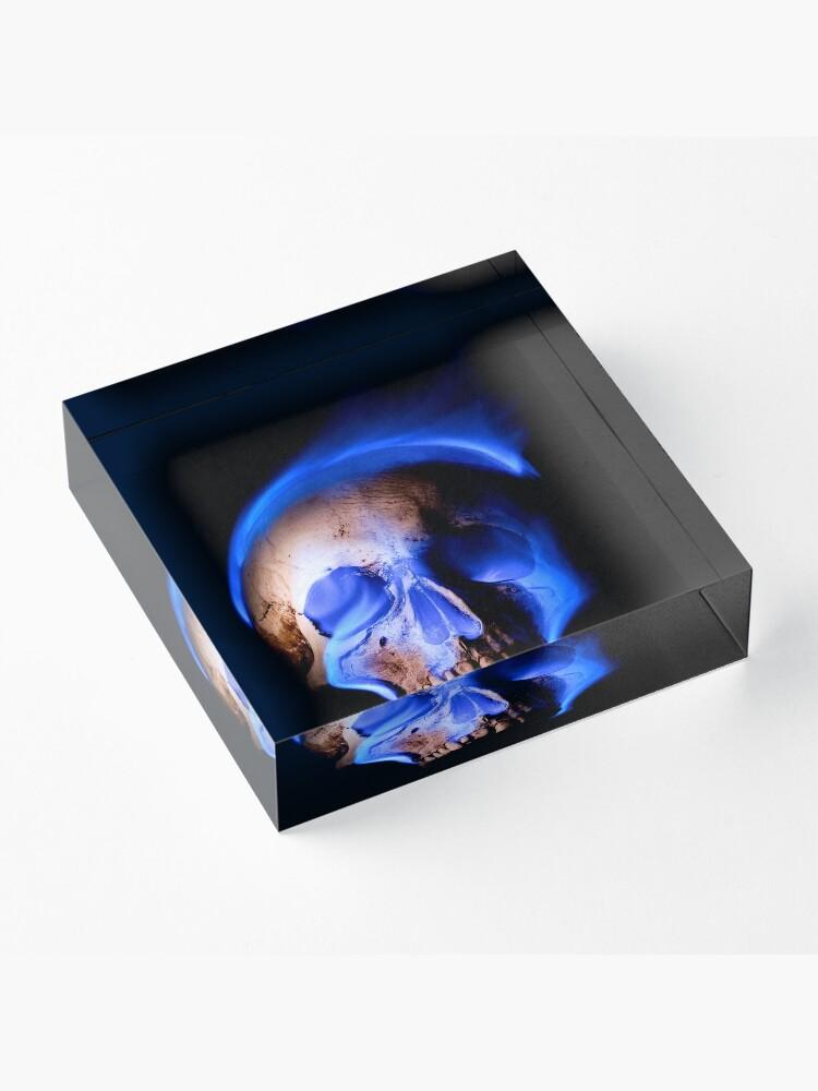 Alternate view of Demons Consume Acrylic Block