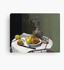 Felix Vallotton - Apples And A Moroccan Vase Metal Print