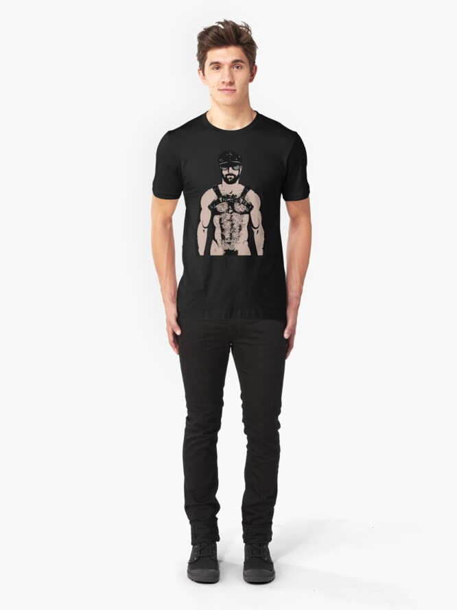 Alternate view of THE DARK CALLS Slim Fit T-Shirt
