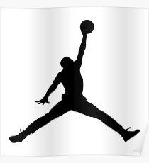 jordan logo t-shirt Poster