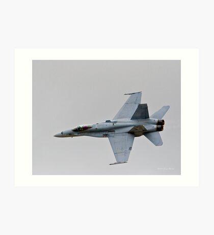 F-18 Hornet Art Print