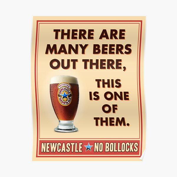 beer newcastle brown ale Poster