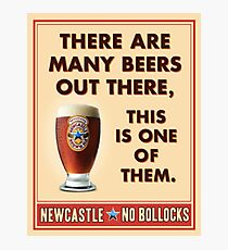beer newcastle brown ale Photographic Print