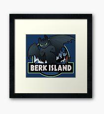 Berk Island Framed Print