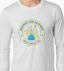 March for Science Boston  Long Sleeve T-Shirt