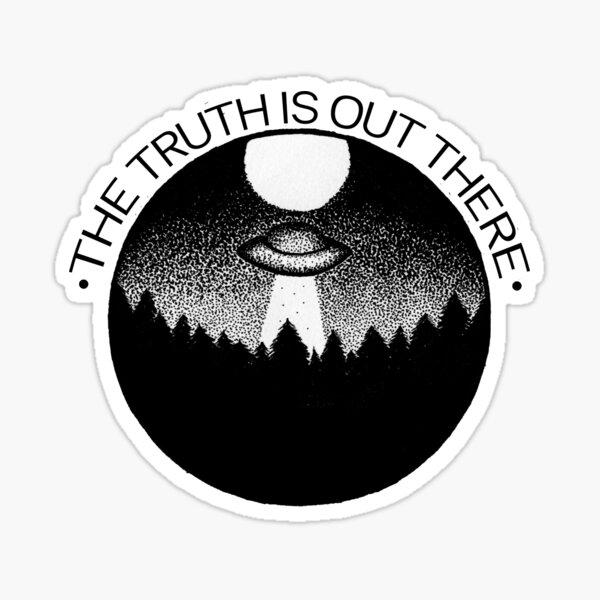 La verdad está ahí fuera Pegatina