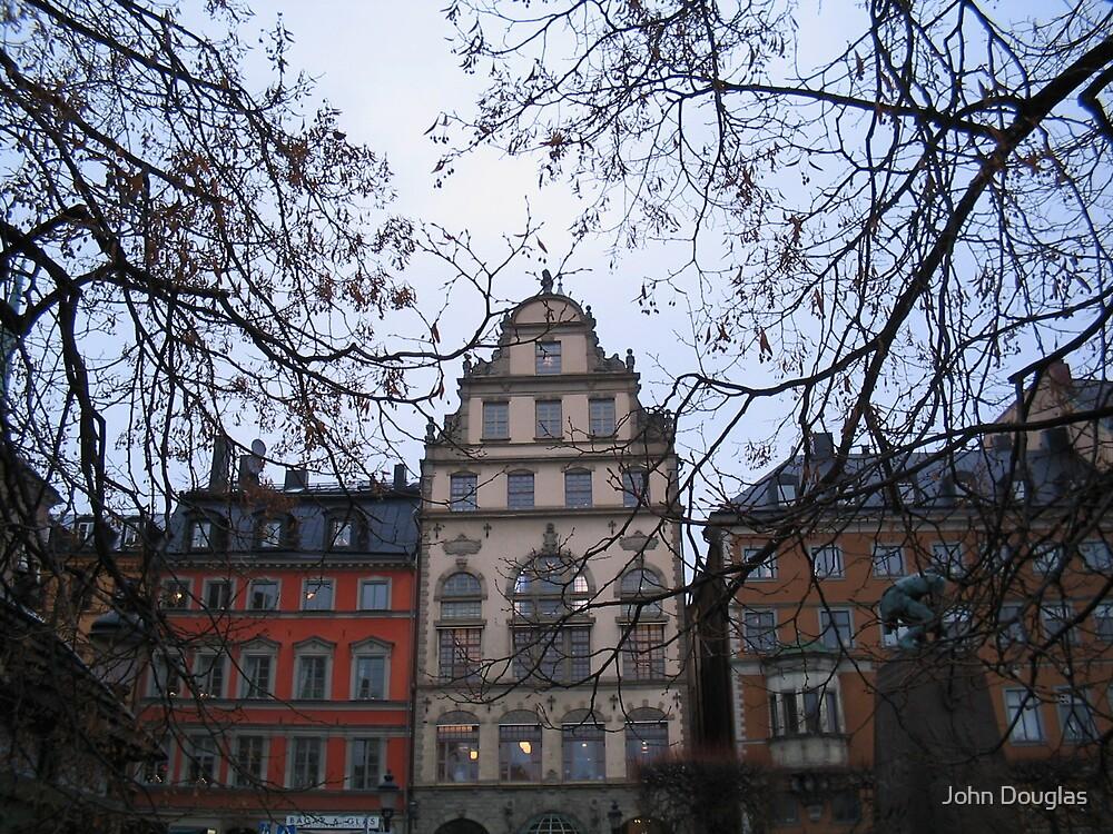 Gamla Stan, Stockholm by John Douglas