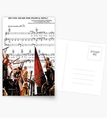 Do You Hear the People Sing - Les Miserables Postcards