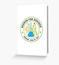 March for Science Chicago Greeting Card